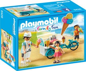 Playmobil Playmobil 9426 Marchand de glace et triporteur 4008789094261