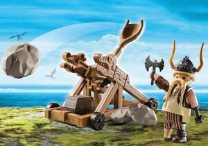 Playmobil Playmobil 9245 Gueulfor avec catapulte 4008789092458