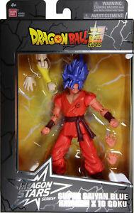 Imports Dragon Dragonball Dragon super série 6 super saiyan blue kaioken x 10 goku 045557359911