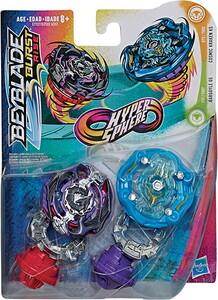 Beyblade Beyblade Burst Rise Hypersphere ensemble duel Gargoyle G5 & Cosmic Kraken K5 630509879823