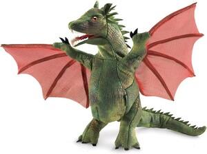 """Folkmanis Marionnette à main Dragon ailé 15x12x9"""" 638348030511"""