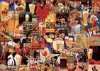 Educa Borras Casse-tête 1000 Collage Bière Vintage 8412668179707