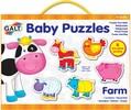Galt Toys Casse-tête 2x6 bébé animaux de la ferme 5011979526410