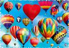 Trefl Casse-tête 600 Silhouette - Ballons Colorés 5900511111125