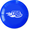 Ligue Ultimate Vallée-de-l'Or (LUVO) Frisbee disque Ultimate 175g bleu logo LUVO blanc