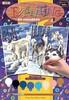 Sequin Peinture à numéro Peinture à numéro junior ensemble de 2 animaux du nord, loups et ours polaires 5013634008170