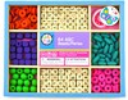 Bead Bazaar Perles boite moyenne lettres de l'alphabet 633870013445