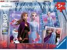 Ravensburger Casse-tête 49x3 La Reine des neiges 2 (Frozen 2) 4005556050116