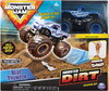Monster Jam Monster Jam Ensemble camion monstre Kinetic Monster Dirt Blue Thunder (Monster Truck) 778988548929