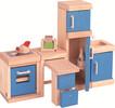 PlanToys Meubles de maison de poupée cuisine néo en bois 8854740073105