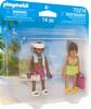 Playmobil Playmobil 70274 Duo Couple de vacanciers (février 2021) 4008789702746