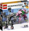 LEGO LEGO 75973 Overwatch D.Va et Reinhardt 673419302739