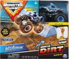 Monster Jam Monster Jam Ensemble camion monstre Kinetic Monster Dirt Megalodon (Monster Truck) 778988548943