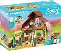 Playmobil Playmobil 70118 Spirit Grange avec Lucky, Apo et Abigaelle 4008789701183