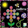 Djeco Kinoptik Jardin, mouvement optique, 107pcs (fr/en) 3070900056022