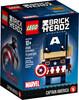 LEGO LEGO 41589 Brickheadz Captain America, Capitaine America La Guerre civile 673419267182