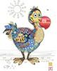 Bug Art Carte fête Kooks dodo sans texte 5033678640150