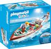 Playmobil Playmobil 9428 Vacanciers avec vedette et moteur submersible (bateau) 4008789094285