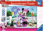 Ravensburger Casse-tête 100 XXL Mickey & Minnie Minnie et Daisy 4005556108817
