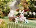 Calico Critters Calico Critters Poussette de Connor et Kerri (3 lapins) 020373216112