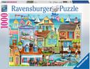 Ravensburger Casse-tête 1000 Au quai 4005556196029