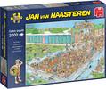 Jumbo Casse-tête 2000 Jan van Haasteren - Embouteillage à la piscine 8710126200407