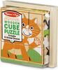 Melissa & Doug Casse-tête cubes 9 animaux en bois Melissa & Doug 3769 000772037693