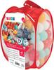 LUDI LUDI - Balles de plastique rouges (75) avec sac refermable, pour piscine à balles 3550833300138