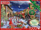 Falcon de luxe Casse-tête 1000x2 Santa's Special Delivery 8710126112687