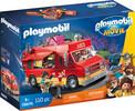 Playmobil Playmobil 70075 Playmobil le film Camion de cuisine de rue de Del (Food truck) 4008789700759