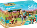 Playmobil Playmobil 70119 Spirit Espace d'entrainement avec Lucky et Javier 4008789701190