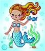 Diamond Dotz Broderie diamant Sirène (Sweet Swimmer) Diamond Dotz (Diamond Painting, peinture diamant) 4897073246284
