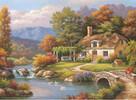 Anatolian Puzzles Casse-tête 1000 chalet au bord de l'eau 8698543130913