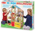 Melissa & Doug Maison de poupée 3 étages en bois et meubles Melissa & Doug 2462 000772024624