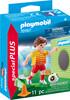 Playmobil Playmobil 70157 Joueur de foot et but 4008789701572