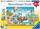 Ravensburger Casse-tête 24x2 Vacanes à la mer 4005556078295