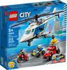 LEGO LEGO 60243 L'arrestation en hélicoptère 673419318716