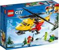 LEGO LEGO 60179 City L'hélicoptère-ambulance 673419279796