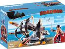 Playmobil Playmobil 9249 Dragons Eret et baliste à 4 projectiles de feu 4008789092496