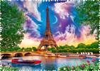 Trefl Casse-tête 600 Silhouette - Ciel De Paris 5900511111156