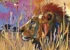 Heye Casse-tête 1000 Bob Coonts - Le lion prend une pause (Take a Break) 4001689298999