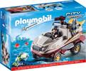 Playmobil Playmobil 9364 Véhicule amphibien et bandit 4008789093646
