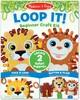 Melissa & Doug Loop It! Beginner Craft Kit - Safari Puppets Melissa & Doug 40186 000772401869