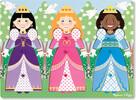 Melissa & Doug Casse-tête boutons vêtements princesses en bois Melissa & Doug 9056 000772190565