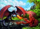 Ravensburger Casse-tête 200 XXL dueling dragon 4005556127085