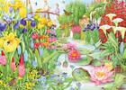 Falcon de luxe Casse-tête 1000 L'exposition de fleurs et le jardin d'eau (The Flower Show The Water Garden) 8710126112823