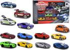 Majorette Majorette ensemble 9 voitures + 4 voitures qui brillent dans le noir 3467452011713