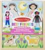 Melissa & Doug Poupée en bois à vêtements magnétiques - meilleures amies Melissa & Doug 9314 000772193146
