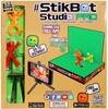 StikBot StikBot pro studio d'animation figurine à animer, scène 2 en 1, support pour téléphone, 2 figurines 008983156172