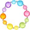 Creative Education Bijou Bracelet Bubble Ball Trouble, 6 x multi 771877840173